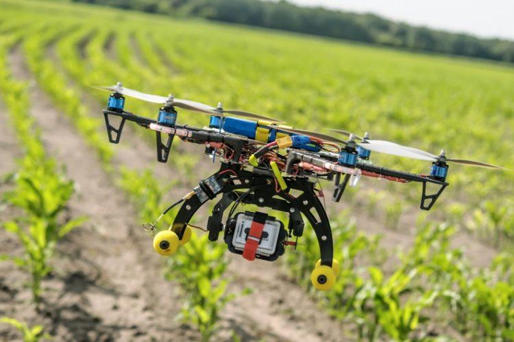 Les drones dans l'agriculture en Afrique